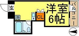 ニシムラアパートメント[2階]の間取り