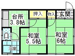 喜久田駅 2.5万円