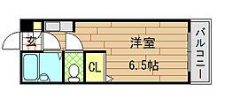 大宝小阪本町ル・グラン[501号室]の間取り