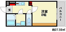 DHガーデンII[1階]の間取り
