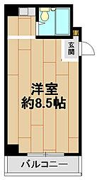 湊マンション[3階]の間取り