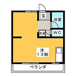 ニュー鳴海マンション[3階]の間取り