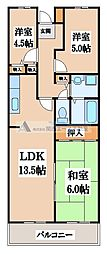 MIIITAKAI[4階]の間取り