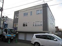 [テラスハウス] 北海道札幌市北区新琴似六条13丁目 の賃貸【/】の外観