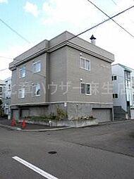 北海道札幌市北区北三十一条西8丁目の賃貸アパートの外観