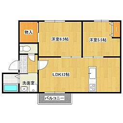 メイハウス[1階]の間取り