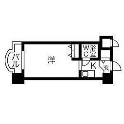 メゾン・ド・グル—[6階]の間取り