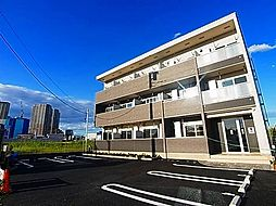 千葉県柏市十余二の賃貸アパートの外観