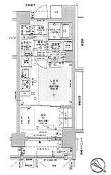 東京メトロ丸ノ内線 茗荷谷駅 徒歩8分の賃貸マンション 1階1LDKの間取り