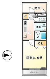 セピアコートIII[3階]の間取り