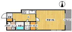J・サイプレス[3階]の間取り