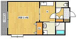 レグルスクレール[4階]の間取り