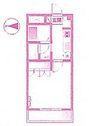 プロニティ 24S[3階]の間取り