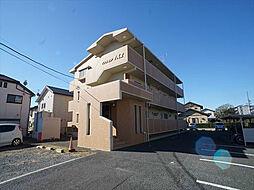 静岡県浜松市浜北区西美薗の賃貸マンションの外観