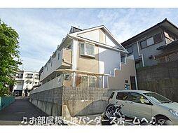 大阪府枚方市菊丘町の賃貸アパートの外観