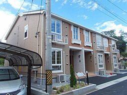 長野県上田市国分の賃貸アパートの外観