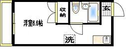 コーポ宮本[2階]の間取り