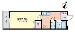 コトー・ラ・ブリューム[3階]の間取り