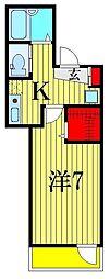 (仮称)ルネコート青砥[3階]の間取り