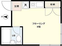キムラハイツ[2階]の間取り