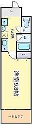 プロシード長居公園通[6階]の間取り