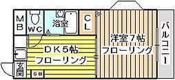 メゾンリュート[3階]の間取り