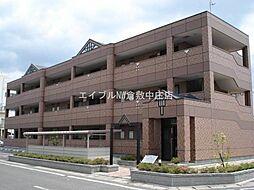 岡山県倉敷市神田2丁目の賃貸マンションの外観