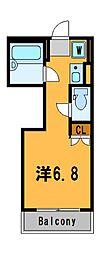 神奈川県横浜市瀬谷区宮沢1の賃貸マンションの間取り