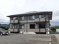 ファミール矢田A棟[2階]の外観