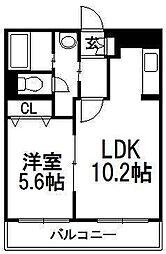シャイニングライブIII[2階]の間取り