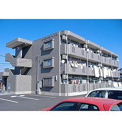 栃木県栃木市平柳町2丁目の賃貸マンションの外観