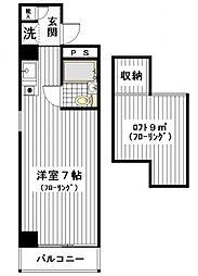 プレステージ横田[308号室]の間取り