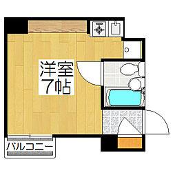 リエス東堀川[505号室]の間取り