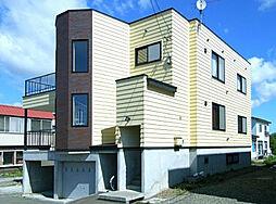 北海道石狩郡当別町北栄町の賃貸アパートの外観