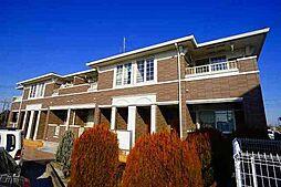 埼玉県川越市大字古谷上の賃貸アパートの外観