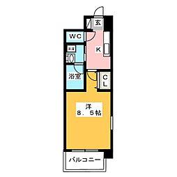 セレニティー大須[7階]の間取り