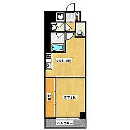 Grand E' terna京都[4階]の間取り