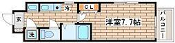 兵庫県神戸市須磨区大池町5丁目の賃貸マンションの間取り