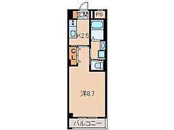 仮称 木広町新築マンション[3階]の間取り