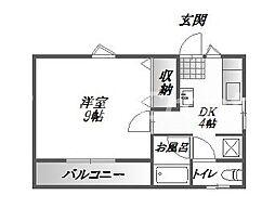 タイム8[1階]の間取り