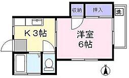 ハイムベル[2階]の間取り