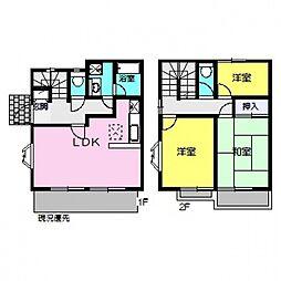 [タウンハウス] 神奈川県横浜市都筑区東山田1丁目 の賃貸【/】の間取り