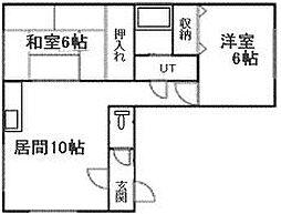 北海道札幌市南区南三十一条西10丁目の賃貸マンションの間取り