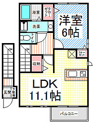 RAM・KOICHI[2階]の間取り