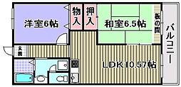 ドルチェ2[102号室]の間取り