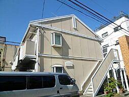 東京都足立区新田2丁目の賃貸アパートの外観