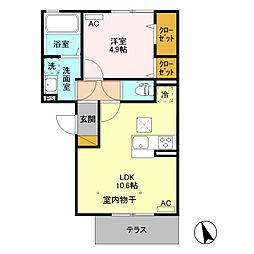 コスタデルソーレ /[1階]の間取り