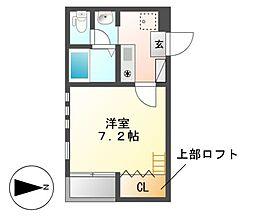 House C Cube[1階]の間取り