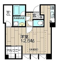 THE APARTMENT HAKATA[305号室]の間取り