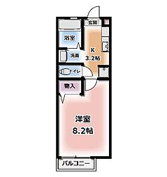 メゾン・ド・深草エル[116号室号室]の間取り